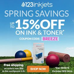 123inkjets coupon