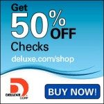 Deluxe Checks Promo Code: 50% First Order September 2017 Reorder Personal Checks Coupons